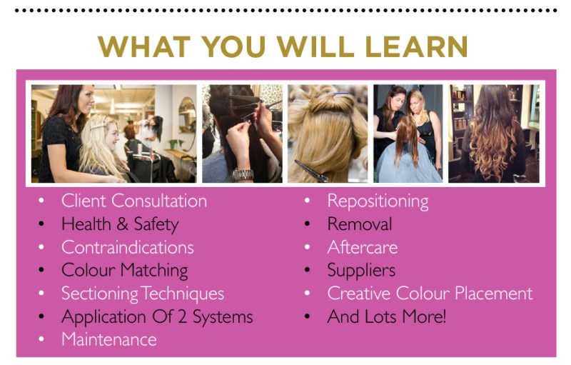 weave hair extension training 5