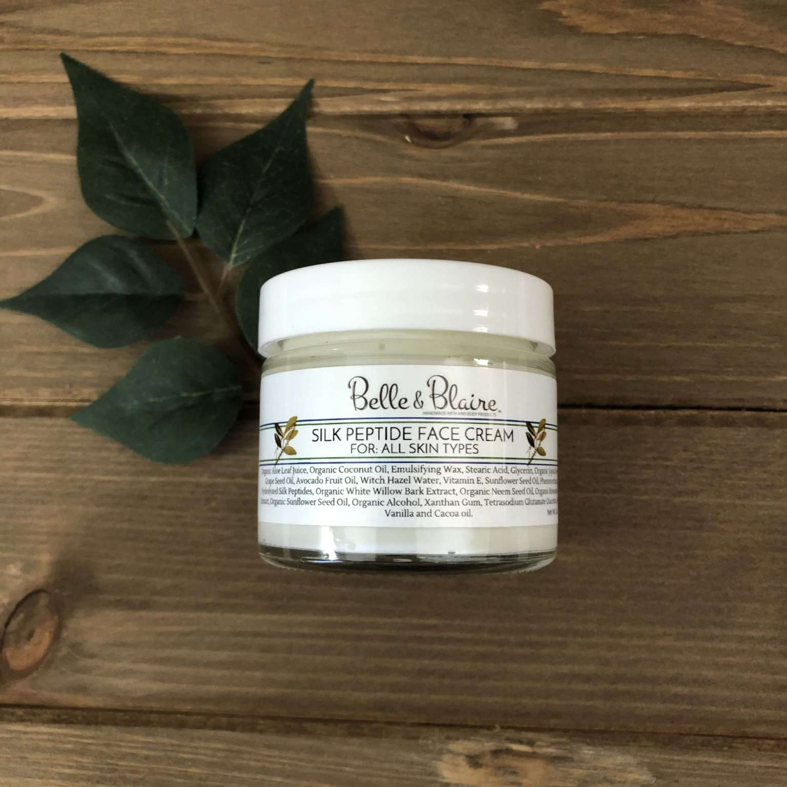 Silk Peptide Face Creme