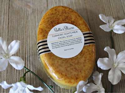 Turmeric Goats Milk Facial Soap