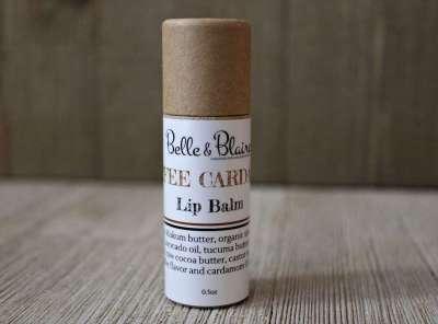 Coffee Cardamom Lip Balm