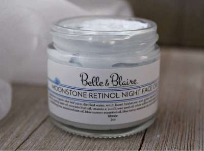 Moonstone Retinol Night Face Cream