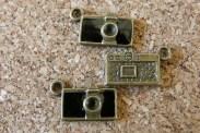 Mini caméra  noire, deux jolis côtés,  8x12mm sans l'anneau emballage de 5 pour 2.30$