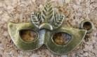 Masque bronze, 15x15mm