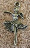 Ballerine bronze, 32x18mm
