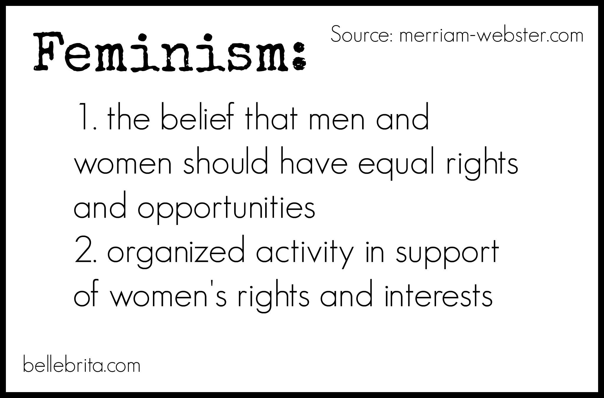 feminism 101 feminist vocabulary