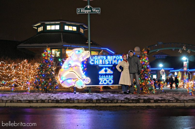 visiting the toledo zoo s lights before christmas celebrating christmas in ohio 2017 belle brita - Lights Before Christmas Toledo Zoo