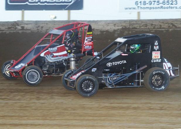 Belle-Clair Speedway POWRi Lucas Oil National Midgets, June 24th