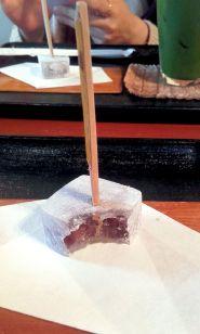 japanese wakashi (traditional sweets) - minimal presentation and balanced flavour