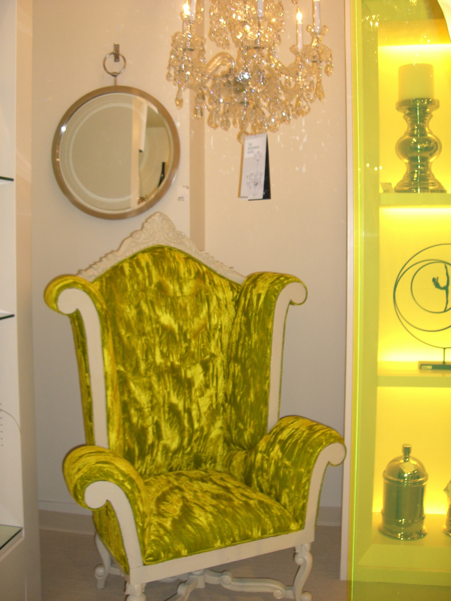 Lime Green Chair Highlights From Our Trip To Las Vegas Market Beautiful