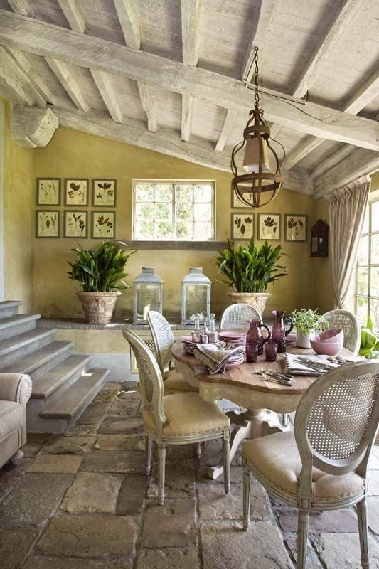 Get the Look of Old Provence in Your Home  Beautiful home inspirations