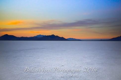 HDR Mountains, Salt Flats Utah, Landscape