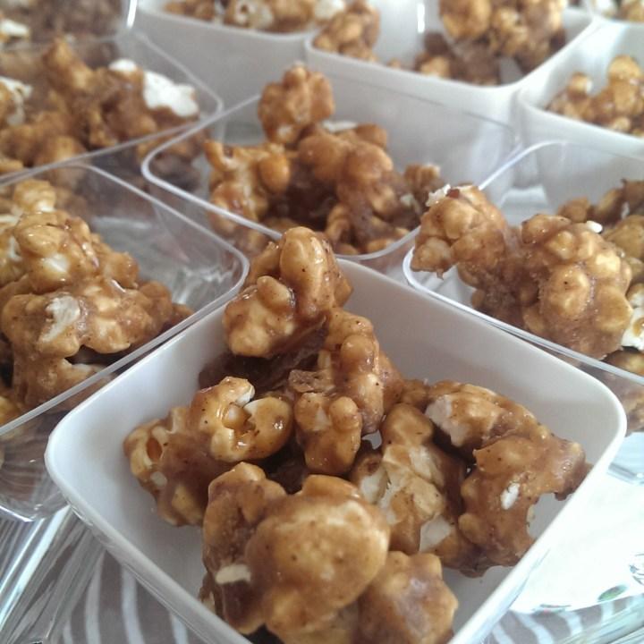Maple Pecan Popcorn