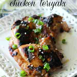 If you enjoy ordering takeout chicken teriyaki, then you will love this homemade version! Just marinate your chicken in a few simple ingredients, then grill, broil, or pan cook for a delicious dinner.