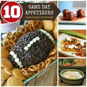 Game Day Recipes: 10 Super Bowl Party Appetizer Ideas at Kenarry.com