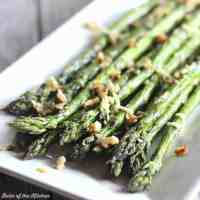 Garlic Parmesan Roasted Asparagus