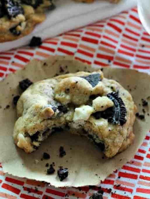 Oreo White Chocolate Chip Cookies Recipe