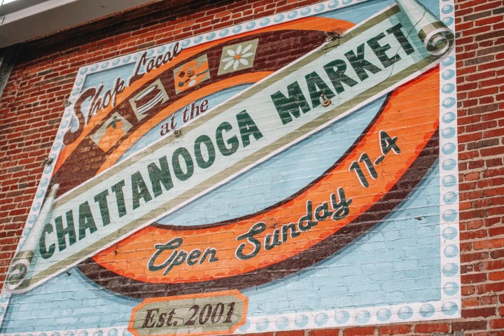 market in Chattanooga, tennessee