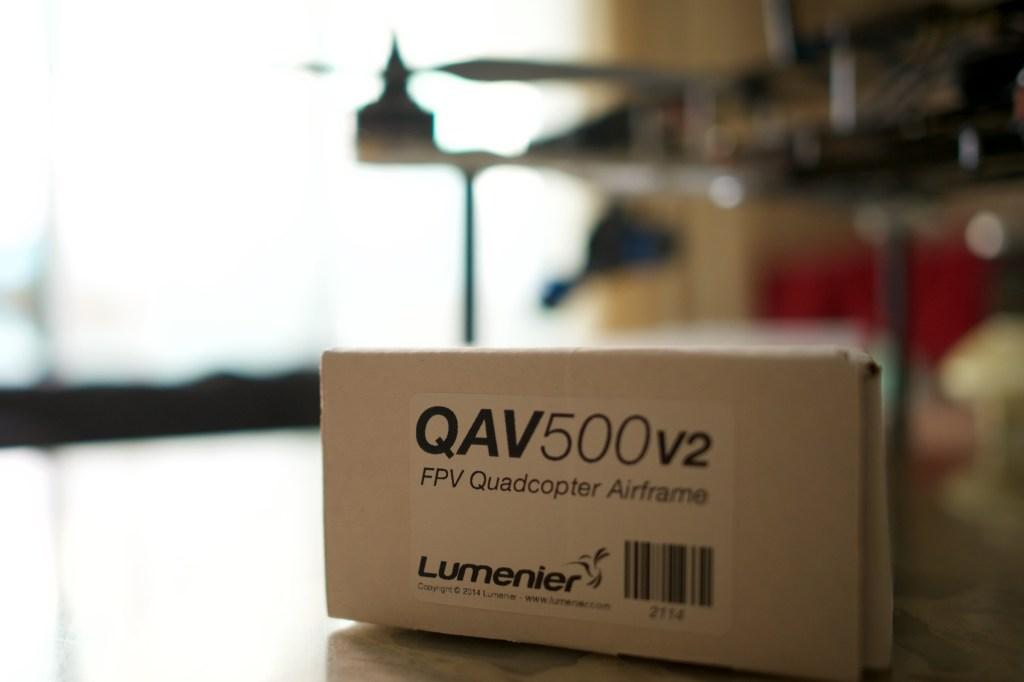 Box of QAV500 v2