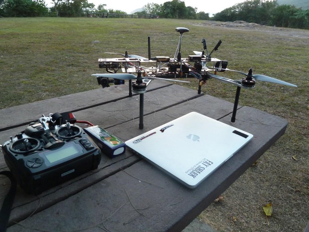 QAV500 v2 ready to launch