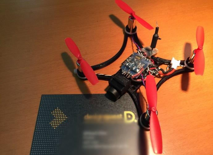 3D Printed FPV micro drone