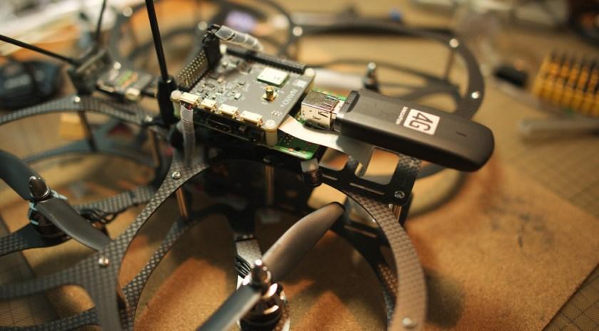 NAVIO+ 4G Network Drone