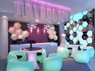 5 Piece Patio Lounge Set VGMNLED-16