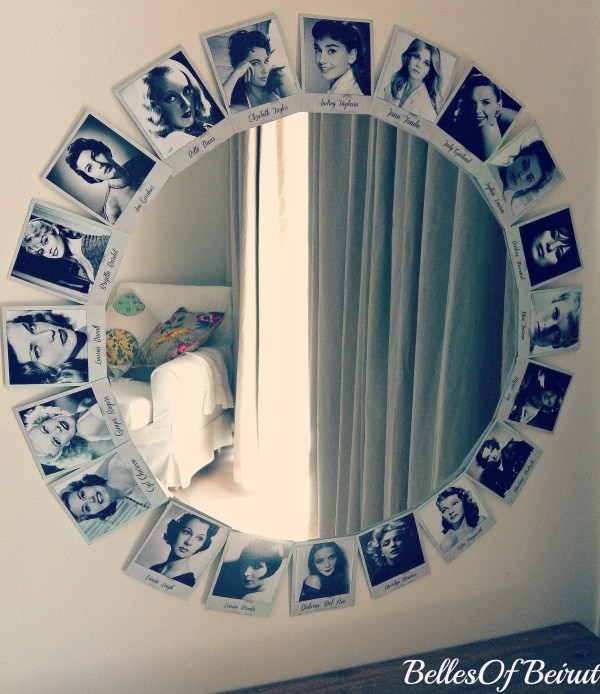 DIY Hollywood Vanity Mirror