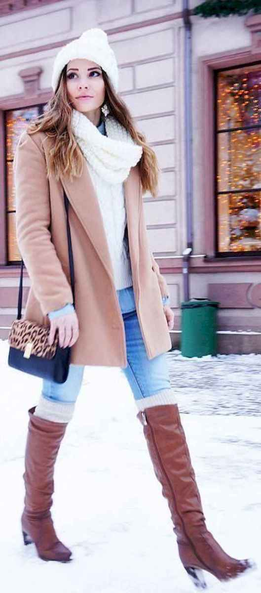 06 Adorable Winter Outfit Ideas with Boots