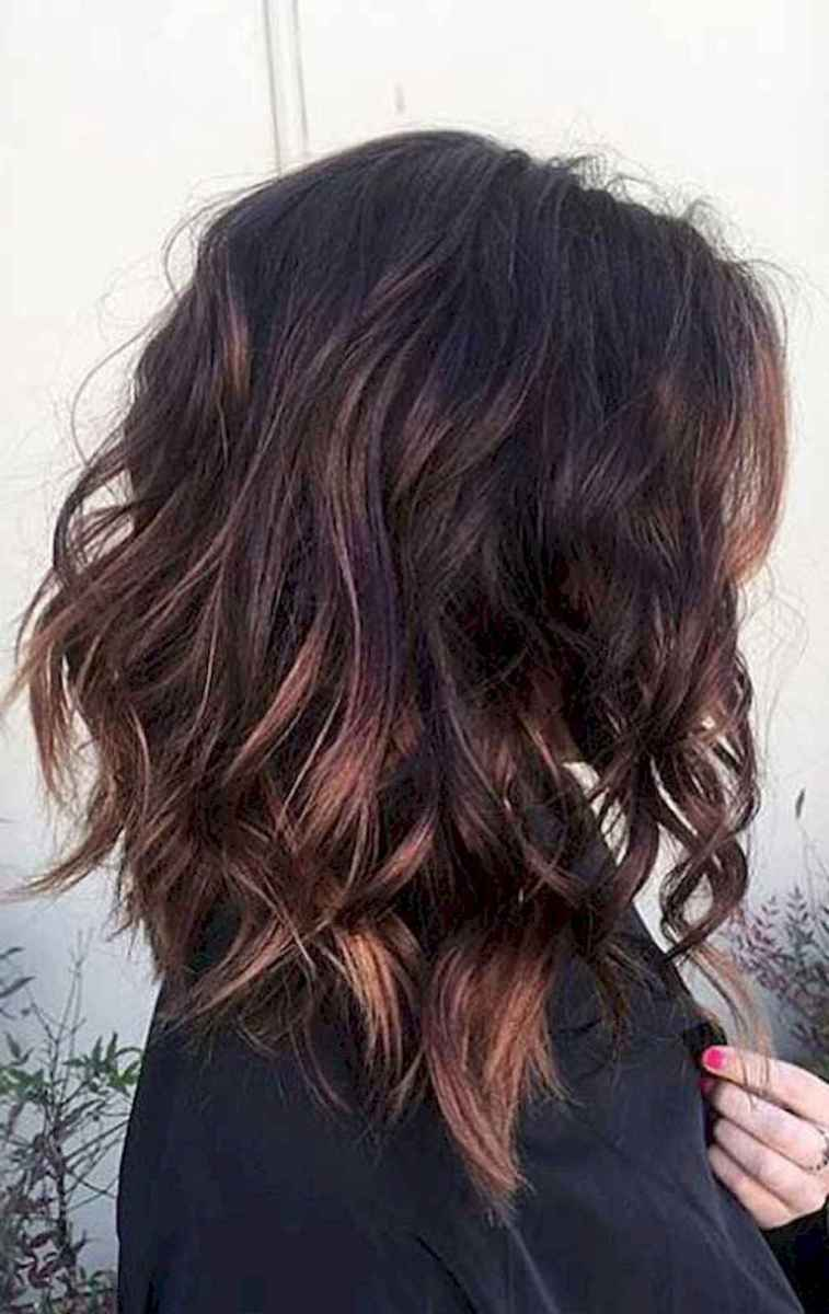 07 Stylish Lob Hairstyle For Fall and Winter