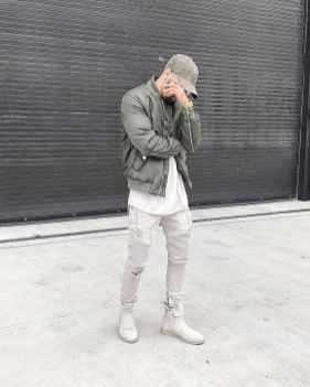 12 Men Outfit Ideas With Bomber Jacket