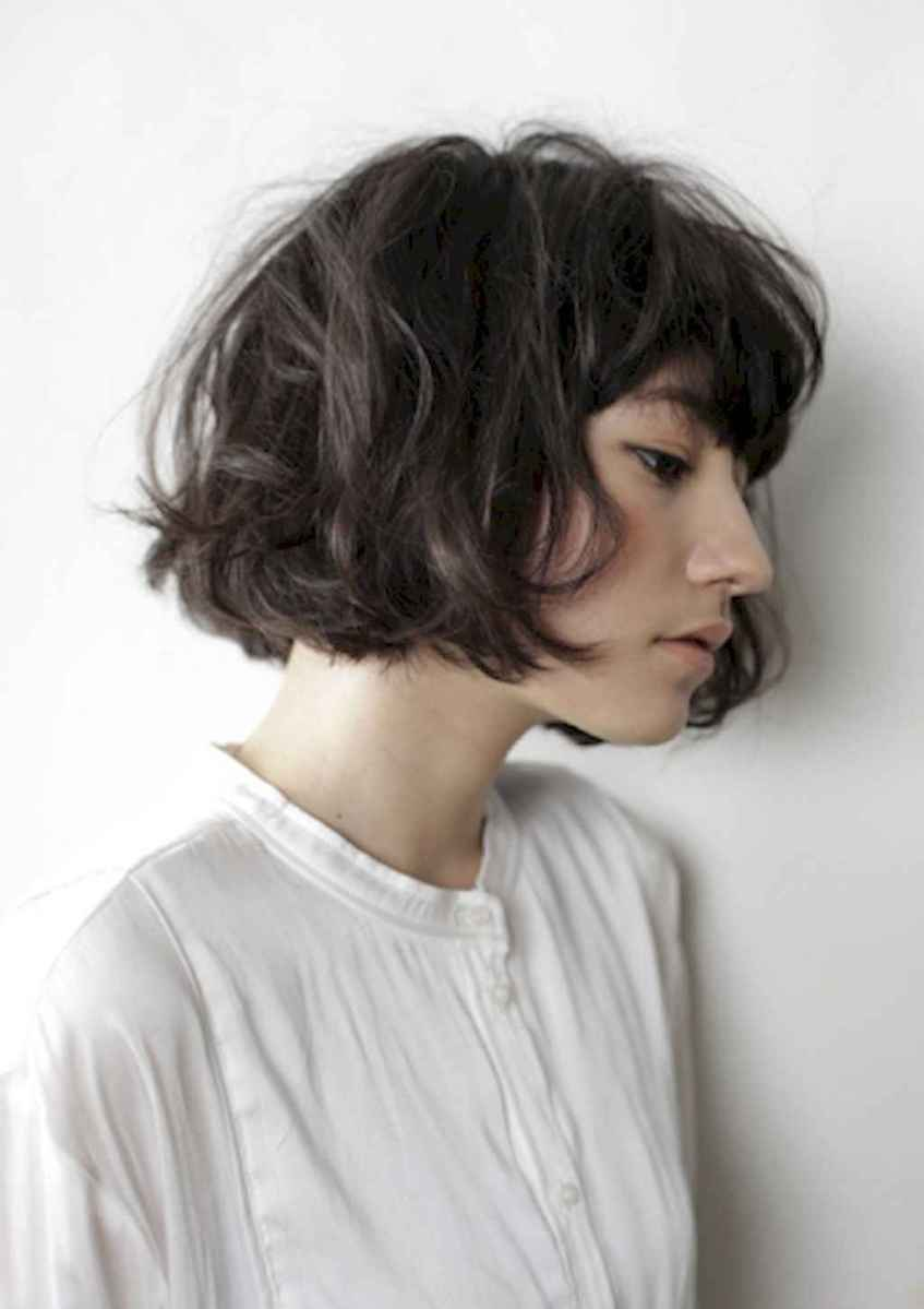 12 Messy Short Hair for Pretty Girls