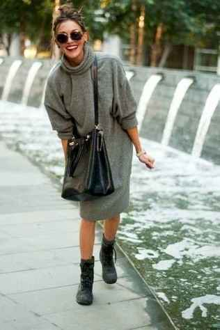 13 Amazing Outfit Ideas for Wearing Oversized Sweaters