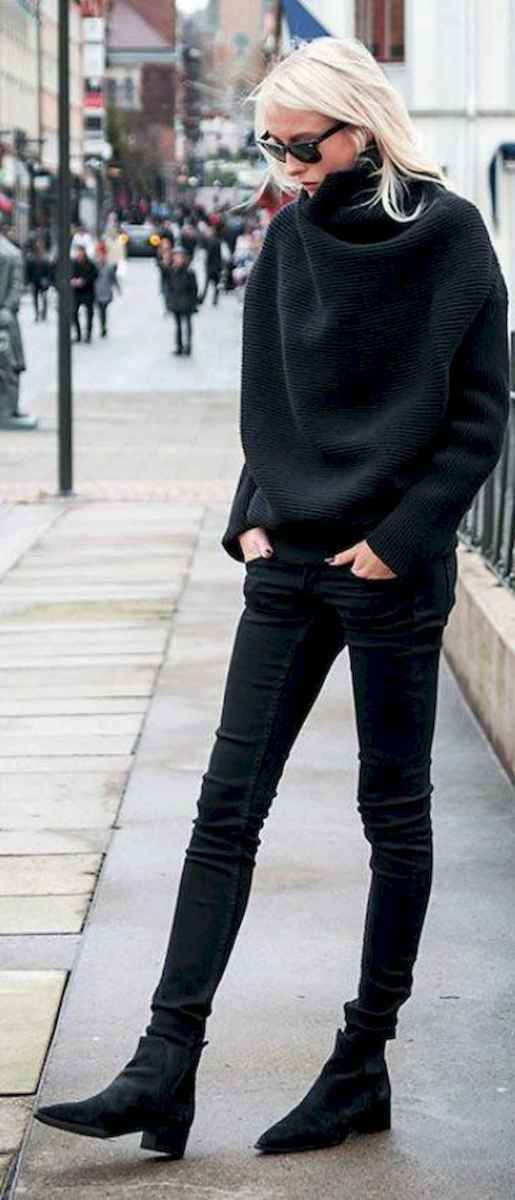 15 Chic All Black Outfit
