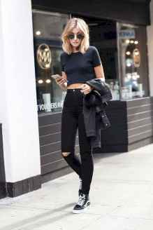 20 Chic All Black Outfit