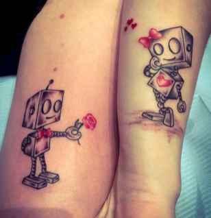 20 Creative Couple Tattoos That Celebrate Love's Eternal Bond
