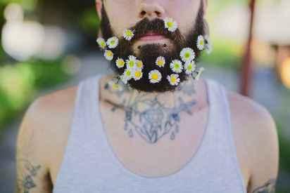 24 Most Elaborate Flower Beard Ideas