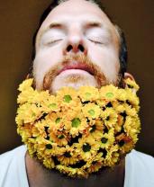 27 Most Elaborate Flower Beard Ideas