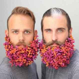 30 Most Elaborate Flower Beard Ideas