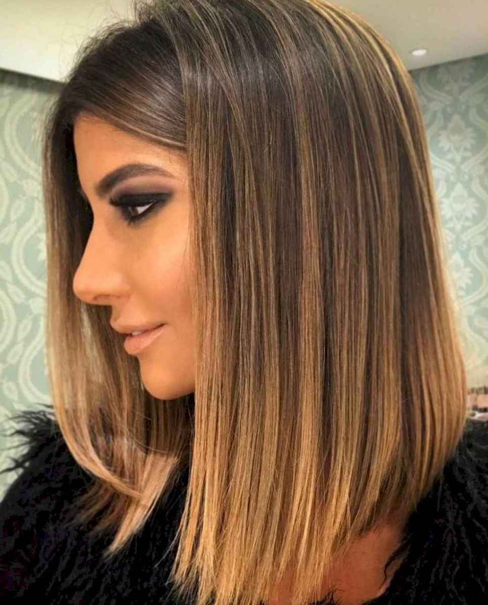 30 Stylish Lob Hairstyle For Fall and Winter