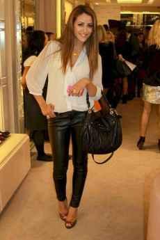 33 Cool Girls WaysTo Wear Leather Legging