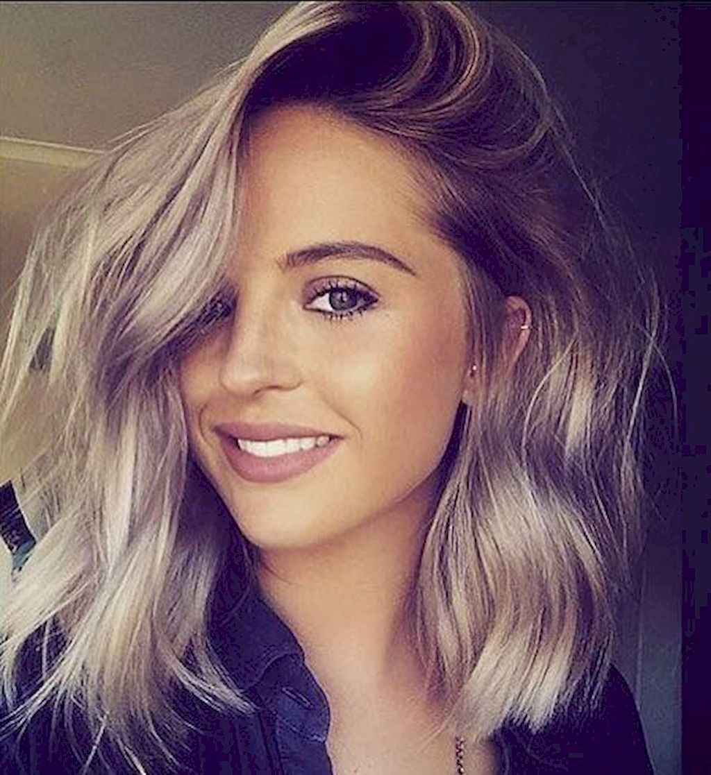 33 Stylish Lob Hairstyle For Fall and Winter