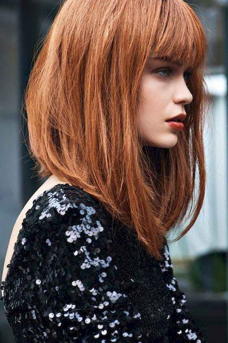 36 Stylish Lob Hairstyle For Fall and Winter