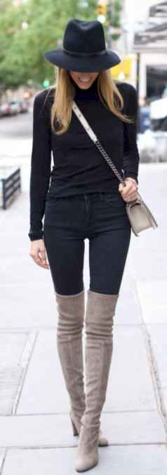 38 Chic All Black Outfit