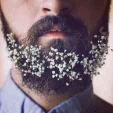 38 Most Elaborate Flower Beard Ideas