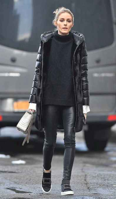 39 Chic All Black Outfit
