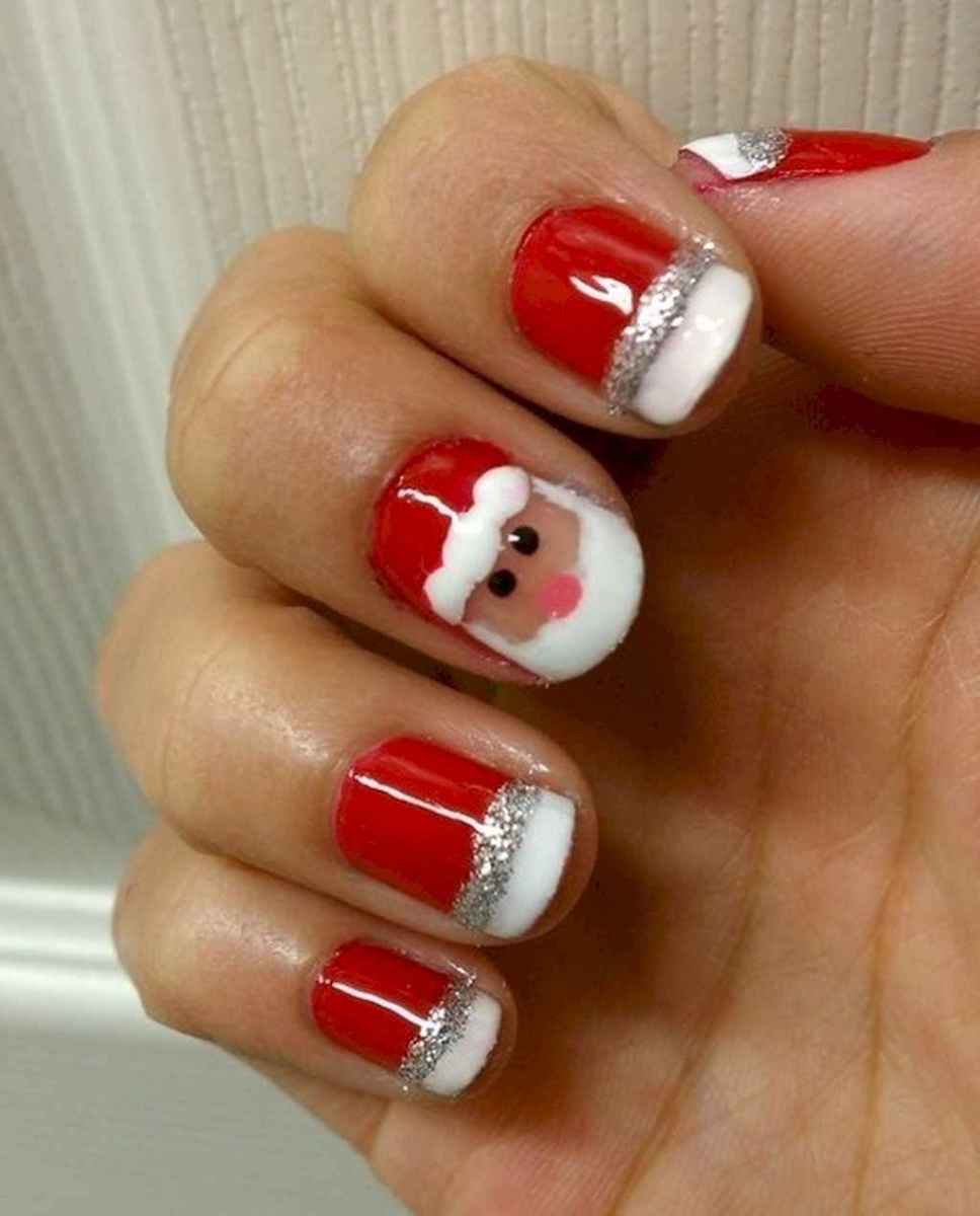 43 Easy Winter Nail Art Ideas