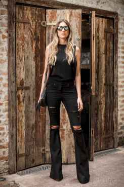46 Chic All Black Outfit