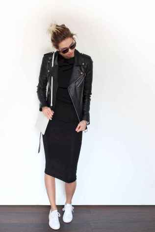 48 Chic All Black Outfit