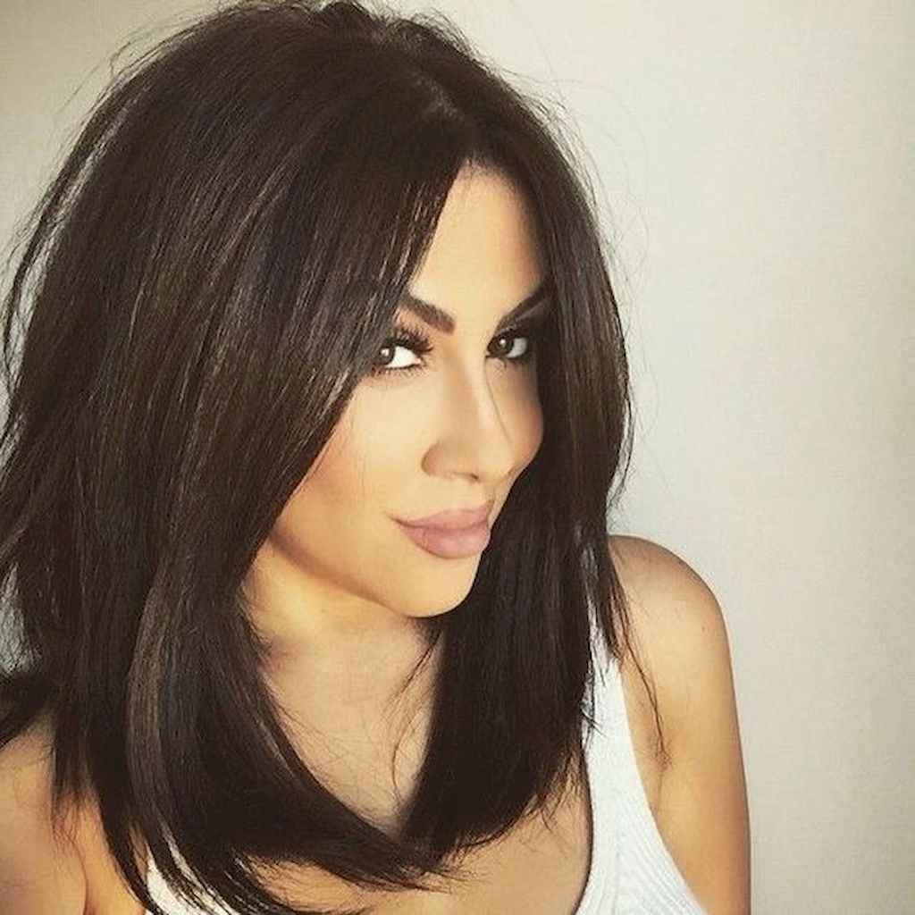 49 Stylish Lob Hairstyle For Fall and Winter