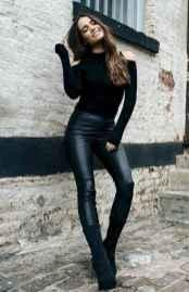 50 Cool Girls WaysTo Wear Leather Legging